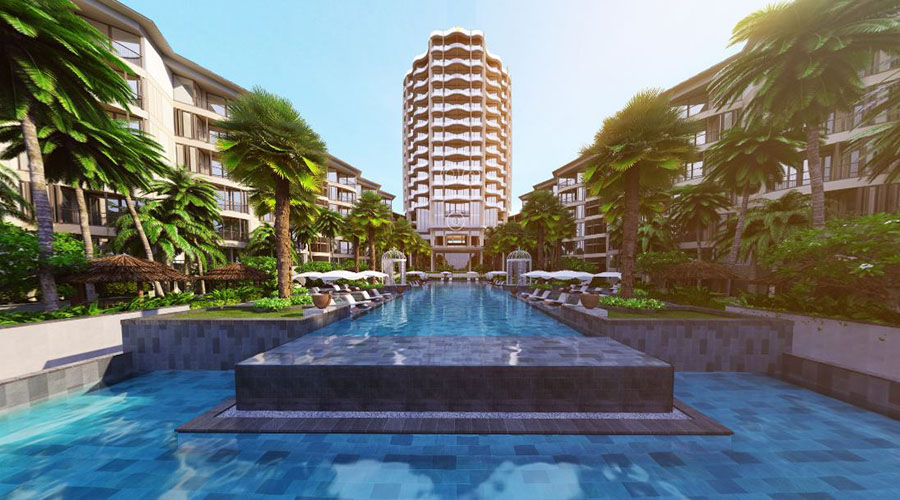 InterContinental Phú Quốc intercontinental phú quốc Sự kiện mở bán Intercontinental Phú Quốc Long Beach Residences Intercontinental Phu Quoc view tu be boi