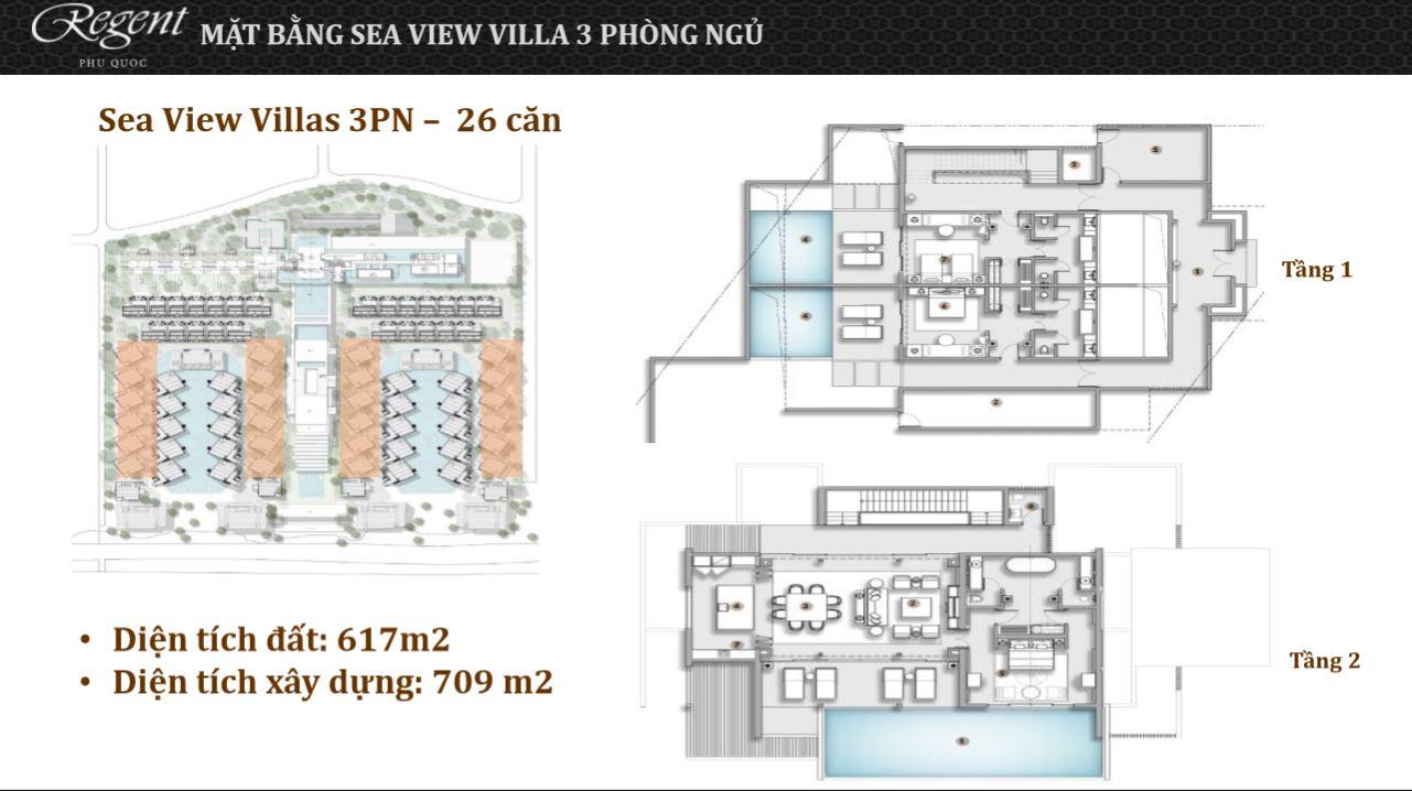 Sea Villas 3PN regent-phuquoc.com regent phú quốc REGENT Phú Quốc Sea Villas 3PN regent phuquoc